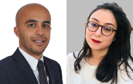 Atman Haloui et Kenza Jouahri du LTIO Casablanca